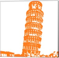 Pisa in Orange Fine-Art Print