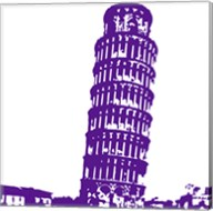 Pisa in Purple Fine-Art Print