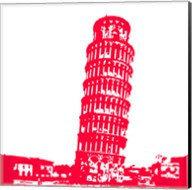 Pisa in Red Fine-Art Print