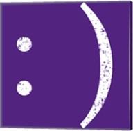Purple Smiley Fine-Art Print
