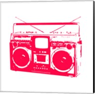Red Boom Box Fine-Art Print