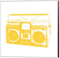 Yellow Boom Box Fine-Art Print