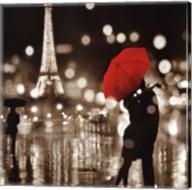 A Paris Kiss Fine-Art Print