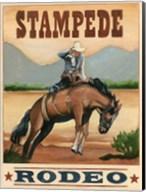 Stampede Rodeo Fine-Art Print