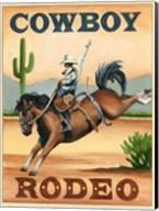 Cowboy Rodeo Fine-Art Print