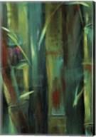 Turquoise Bamboo I Fine-Art Print