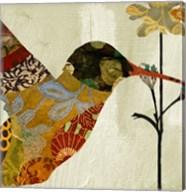 Hummingbird Brocade III Fine-Art Print