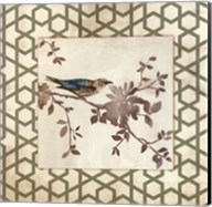 Audubon Tile II - Mini Fine-Art Print