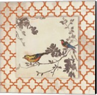 Audubon Tile IV - Mini Fine-Art Print
