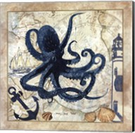 Nautical Octopus Fine-Art Print