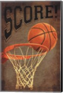Score Basketball Fine-Art Print