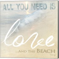 Love And The Beach Fine-Art Print