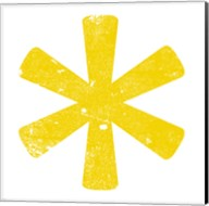 Yellow Asterisk Fine-Art Print