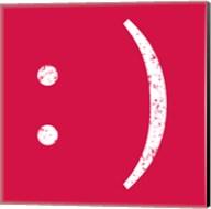 Red Smiley Fine-Art Print