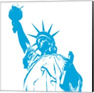 Liberty in Blue Fine-Art Print