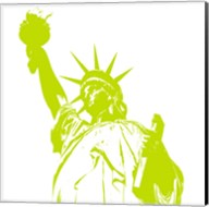Liberty in Lime Fine-Art Print