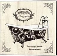 French Bath II- Tub Fine-Art Print