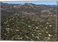 Aerial view of Santa Barbara, California Fine-Art Print