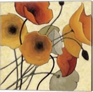 Pumpkin Poppies II Fine-Art Print