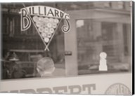 Billiards Hall, Greensboro, North Carolina Fine-Art Print