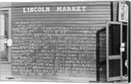 Lincoln Market Winston Salem, North Carolina Fine-Art Print
