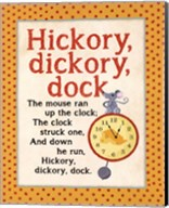Hickory Dickory Fine-Art Print