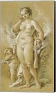 Venus and Cupid Fine-Art Print