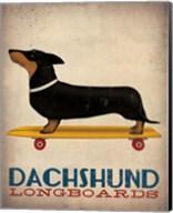 Dachshund Longboards Fine-Art Print