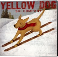 Yellow Dog Ski Co Fine-Art Print