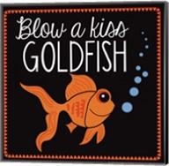 Blow a Kiss Goldfish Fine-Art Print