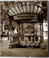 Metropolitain (Paris) II Fine-Art Print