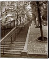 Steps of Montmartre Fine-Art Print