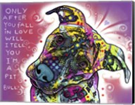 I'm a Pit Bull Fine-Art Print