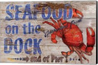 Seafood on the Dock Fine-Art Print