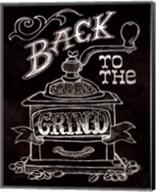 Back to the Grind No Border Fine-Art Print