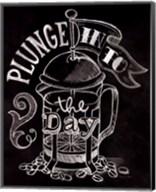 Plunge Into the Day No Border Fine-Art Print