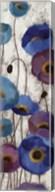 Bold Anemones Panel III Fine-Art Print