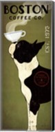 Boston Terrier Coffee Co Fine-Art Print