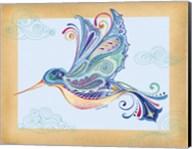 Funky Hummingbird Fine-Art Print