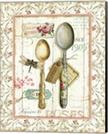 Rose Garden Utensils II Fine-Art Print