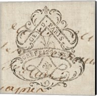 Letter Crest III Fine-Art Print