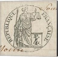 Letter Crest V Fine-Art Print