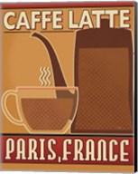 Deco Coffee III Fine-Art Print