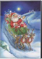 Here Comes Santa Clause Fine-Art Print