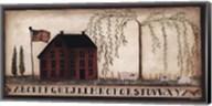 A Home in the Village Fine-Art Print