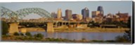 Bridge over a river, Kansas city, Missouri, USA Fine-Art Print