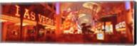 View of Fremont Street Las Vegas NV USA Fine-Art Print