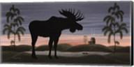 Moose at Dusk Fine-Art Print