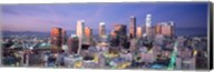 Night, Skyline, Cityscape, Los Angeles, California, USA Fine-Art Print