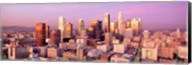 Sunset Skyline Los Angeles CA USA Fine-Art Print